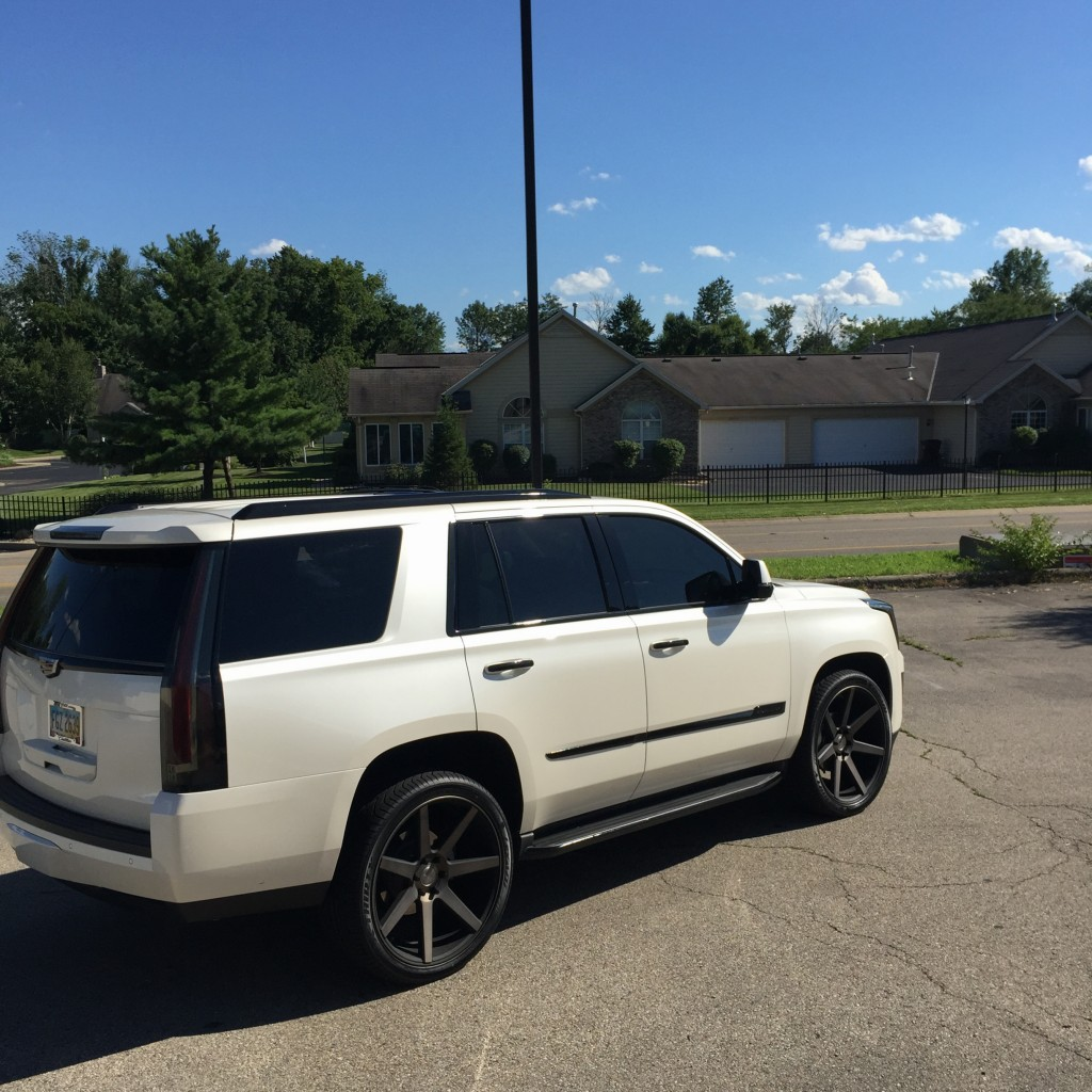 Cadillac Escalade Blackout Chrome Vivid Wraps